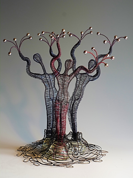 Woven Wire Sculpture